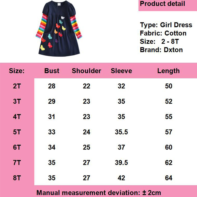 HTB1e4aDQFzqK1RjSZFoq6zfcXXas DXTON 2018 New Girls Dresses Long Sleeve Baby Girls Winter Dresses Kids Cotton Clothing Casual Dresses for 2-8 Years Children