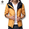 Hot Sale Winter Men's Down Jacket,Warm Plus Size 6XL Size Men Downs Jacket, 2016 New Fashion Men Slim Fit Parkas