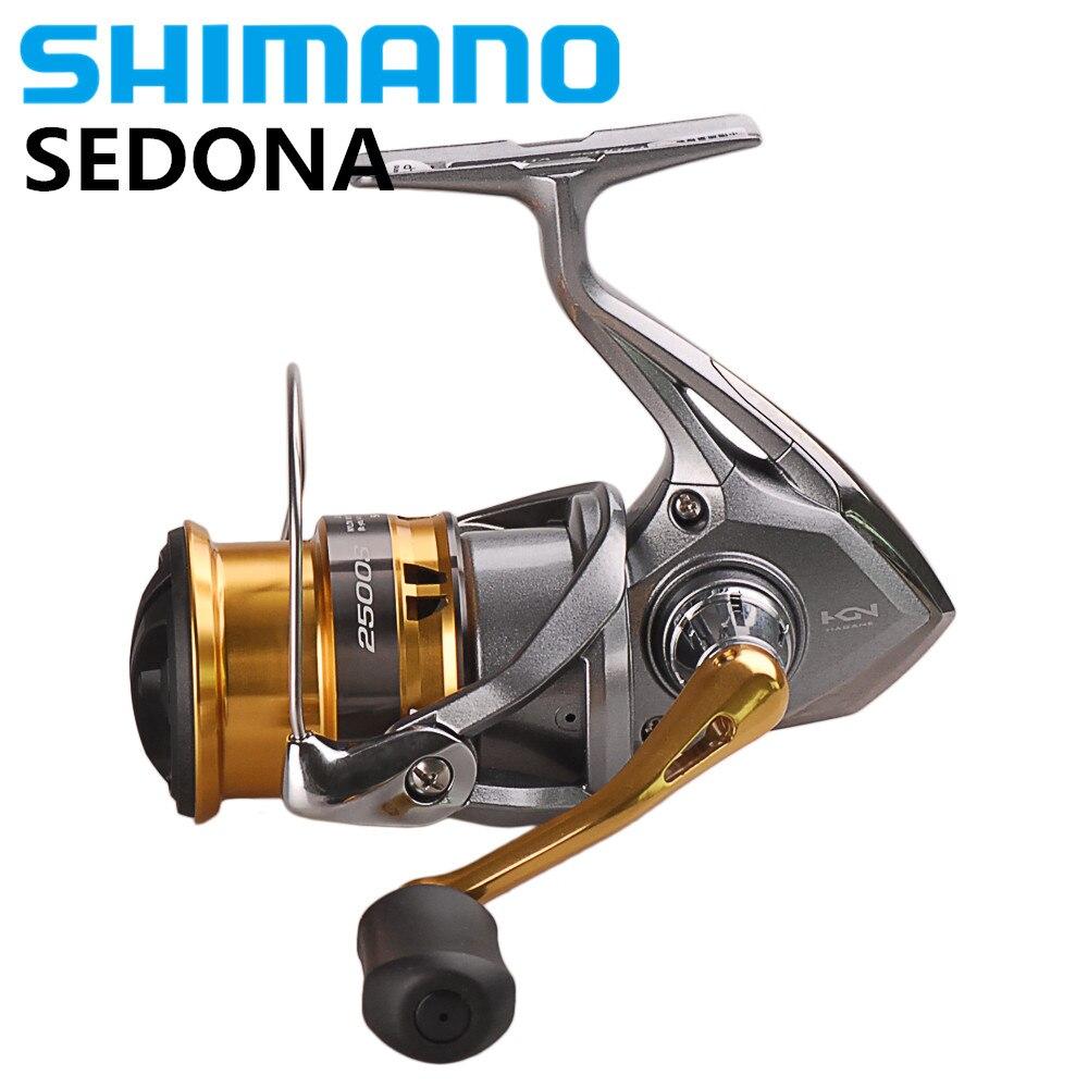 SHIMANO SEDONA C2000S C2000HGS 2500 2500S 2500HG C3000HG 6000 8000 Spinning Fishing Reel 4BB Saltwater Carretilha