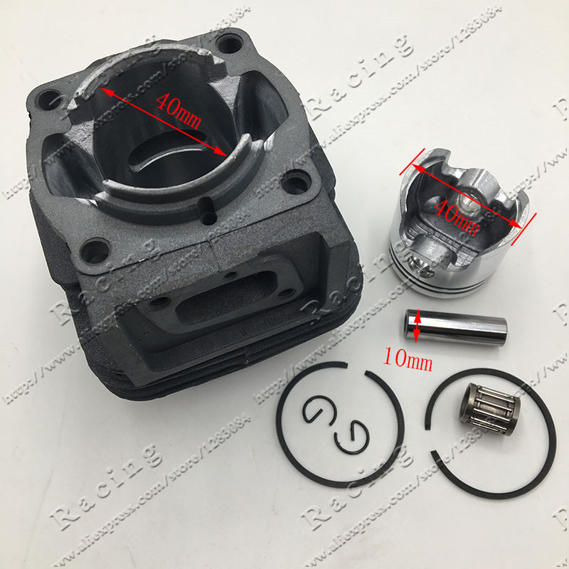 1E40F-5 TL43/CG430 Brush Cutter Trimmer Cylinder And Piston Full Set Dia 40mm