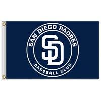 San Diego Padres 7 Major League Baseball MLB MLB Pennant Pennants 90 150cm Free Shipping 100D