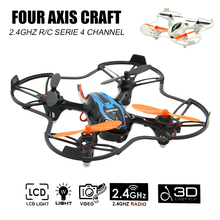 RC Drone With Video Camera 6 Axis Gyro Drones Quadcopter LED Lights 2.4G Helicopter 3D Cast Remote Controlled Flying Toys Drone!(China)