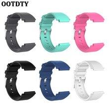 OOTDTY Silicone Replacement Wrist Strap Bracelet Watch Band For Sony Smartwatch 2 SW2