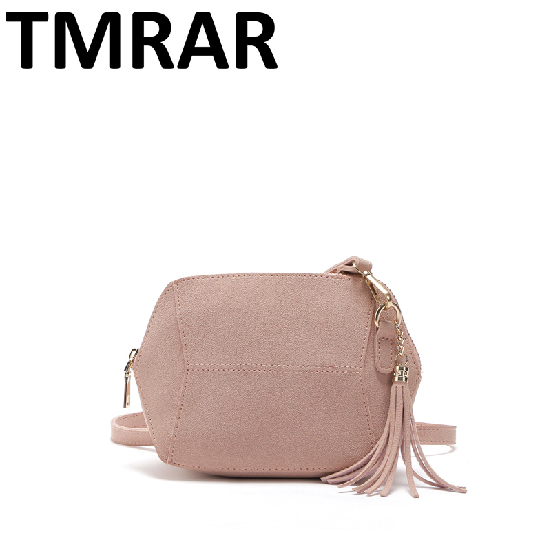 2017 New classic small shell shape bag lady messenger bag with tassel clutch PU leather handbags women tote bags bolsas qn165 jialante 2017 new lizard leather bag is made of simple small shell bag customized for 15 days