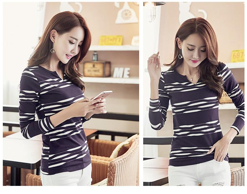 HTB1e4bnSpXXXXc8apXXq6xXFXXX3 - 2017 Autumn Winter Korean T-shirts For Women Cotton Fashion T Shirt