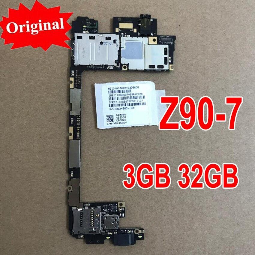 LTPro Qualidade Original mainboard Para tiro de Teste Usado Para Lenovo Vibe Z90 z90-7 3 gb 32 gb motherboard placa de cartão taxa de chipsets