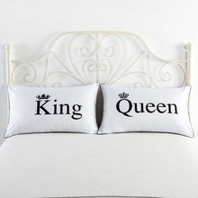 FREEshipping Decorative Pillowcase Valentine's Day Gift Body Pillow Case Romantic 19x29inch one pair/2pcs