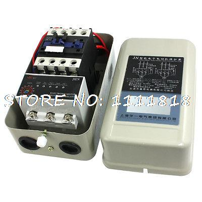 цена на LED Indicator 4NO AC Contactor 5-65A Relay Electronic Motor Protector 5.5KW 380V