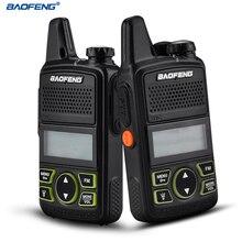 BAOFENG BF-T1 Walkie Talkie MINI Two Way Radio UHF 400-470mhz 20CH Portable Ham CB Radio FM Flashlight Handheld Transceiver