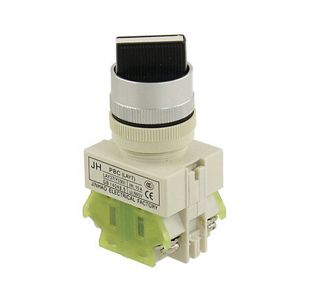 On-Off-On Three Position Industry Rotary Switch 660V Ui 10A Ith 660v ui 10a ith 1 0 2 on off on universal rotary cam changeover switch