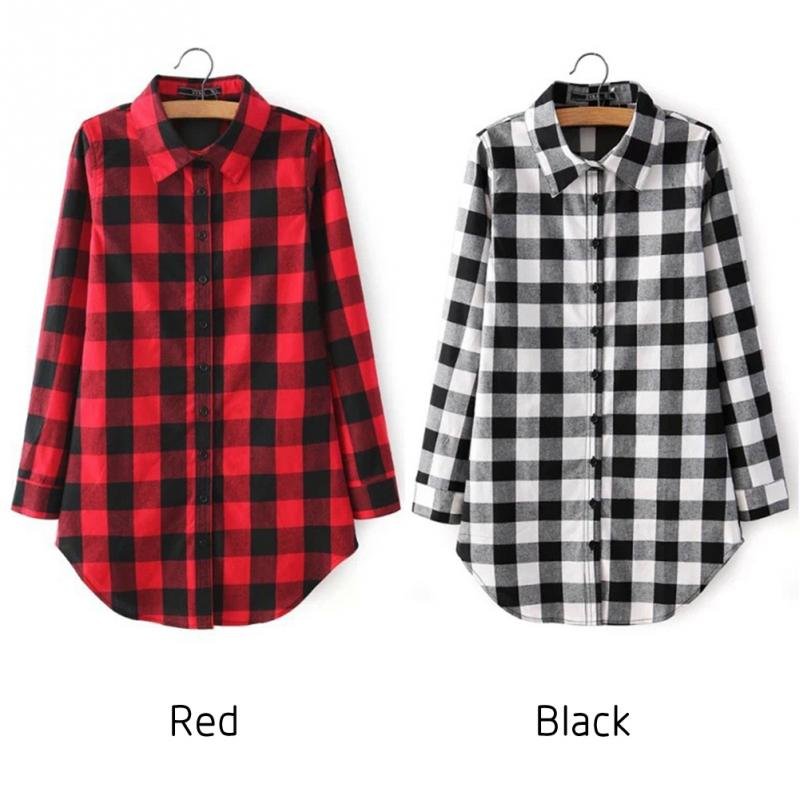 eb8301c043 Nova primavera Moda Casual Lapela Plus Size Blusas mulheres camisa ...