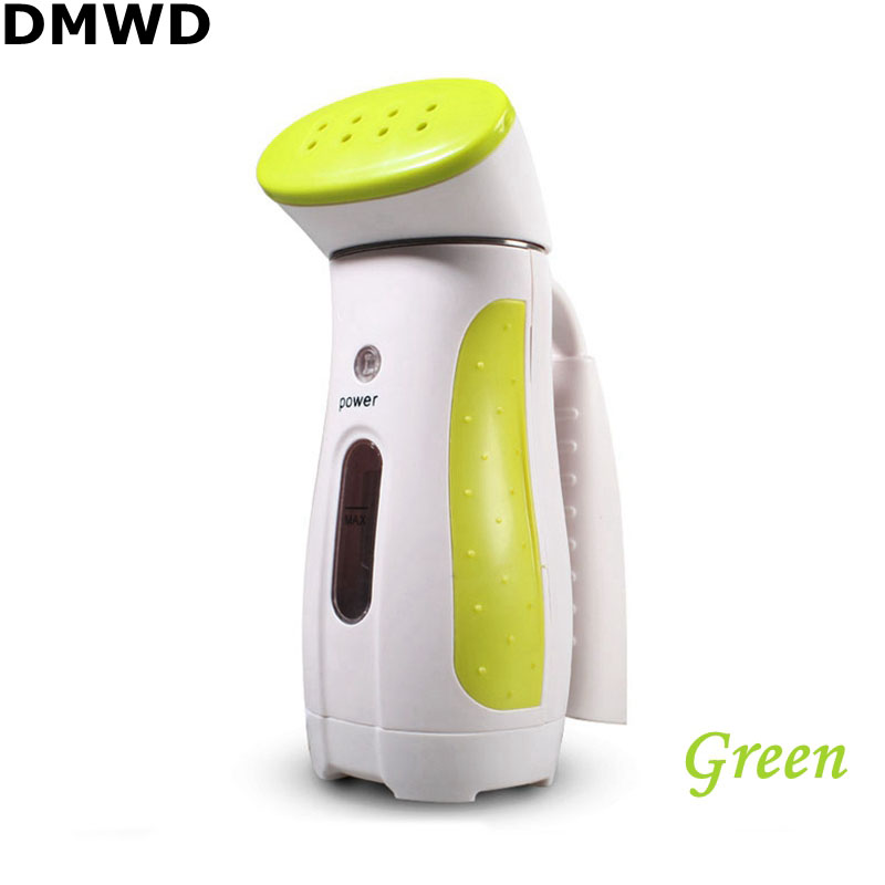 DMWD Mini Traveling Laundry Appliance Fast Heating Steam Handheld Garment Steamer Continuous Output 60mL Water Tank 110-220V