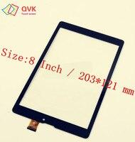 Negro de 8 pulgadas para Prestigio MultiPad PMT3208C 3G tablet ordenador pantalla táctil capacitiva panel digitalizador de vidrio envío gratis|capacitive touch screen|touch screen|multipad 8 -