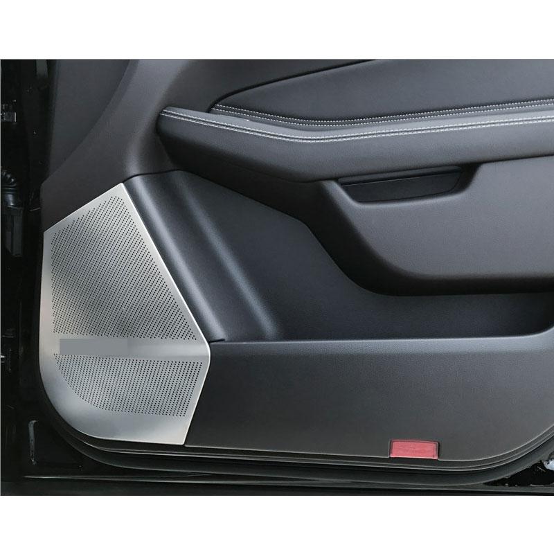 Pour Mercedes Benz ML W166 GLE Coupe C292 GL X166 GLS voiture style voiture porte haut-parleurs couverture CarAudio stéréo Protection autocollant garniture