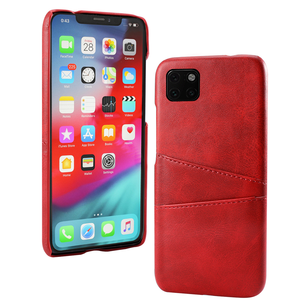 Torubia Leather Card Holder Case for iPhone 11/11 Pro/11 Pro Max 10