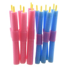 36pcs Hair Rollers Curlers New Soft Foam Anion Bendy Cling Styling Tool drop Shipping Gift