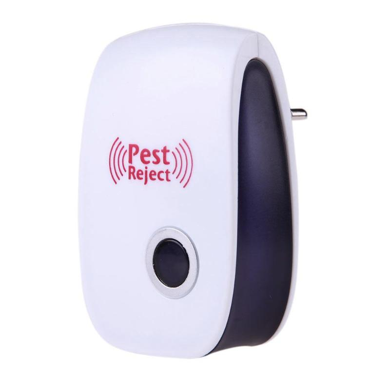 EU Plug Electronic Pest Repeller Ultrasonic Rejector Mouse Mosquito Rat Mouse Repellent Anti Mosquito  Anti Mosquito Repeller