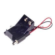 1PCS 5.5*2.1 mm 9V Battery Holder Box DC Plug Socket Battery Holder For Arduino