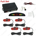 1SET Car LED Display 4pcs Original Sensors Reverse Backup Radar System Parking Sensor #CA1346