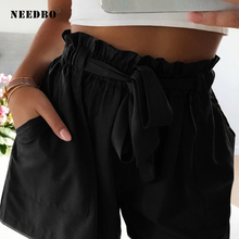 NEEDBO Shorts Women Casual High Waist Shorts Plus Size Beach New Style Short Feminino Short Pants Summer Ladies Hot Shorts