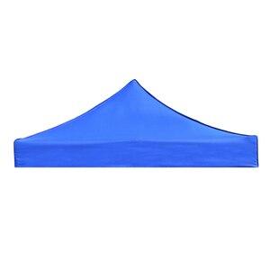 Image 3 - 텐트 상단 커버 캐노피 천막 대피소 커버 교체 방수 옥스포드 텐트 액세서리 야외 캠핑 하이킹 블루/레드