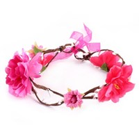 New Arrival Children Cute Kids Baby Girl Cloth Flower Hair Band Headwear Headband Accessories Gift Decoration