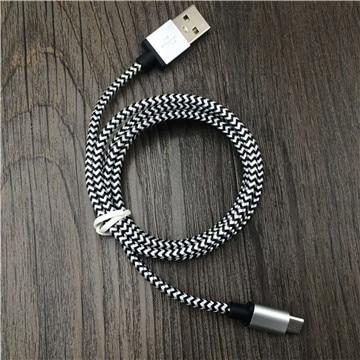 Cable Micro Usb 2a 1 M De Carga Rápida Nylon Usb Sync Datos Teléfono Móvil Android Cable Adaptador Cargador Para Samsung Sony Htc Lg Cable Lustroso