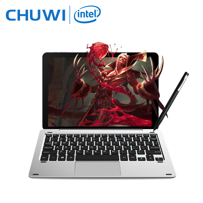 "10,1 ""chuwi Hi10 Pro 2 в 1 Tablet PC Улучшенный Металл планшет Intel Cherry Trail X5-Z8350 Windows 10 android 5,1 4 г 64 г ips HDMI"