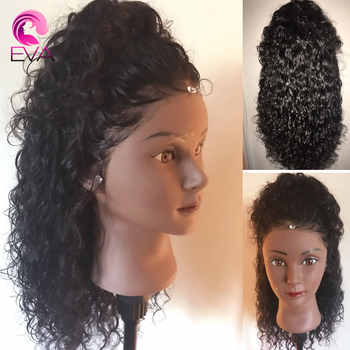 Short Lace Front Human Hair Wigs Pre Plucked With Baby Hair Curly Lace Front Bob Wigs For Black Women Brazilian Remy Eva Hair