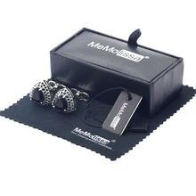 Memolissa коробка для запонок с роскошными кристаллами зеркальные