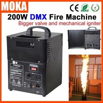화재 기계 전문 dmx 불꽃 프로젝터 무대 장비 스프레이 화재 기계 dj 파티 쇼