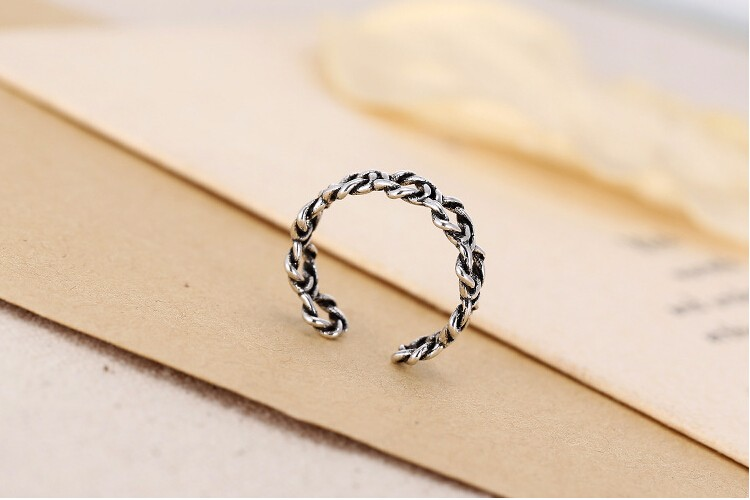 New arrival hot sell retro style Thai 925 sterling silver ladies - Fine Jewelry - Photo 3