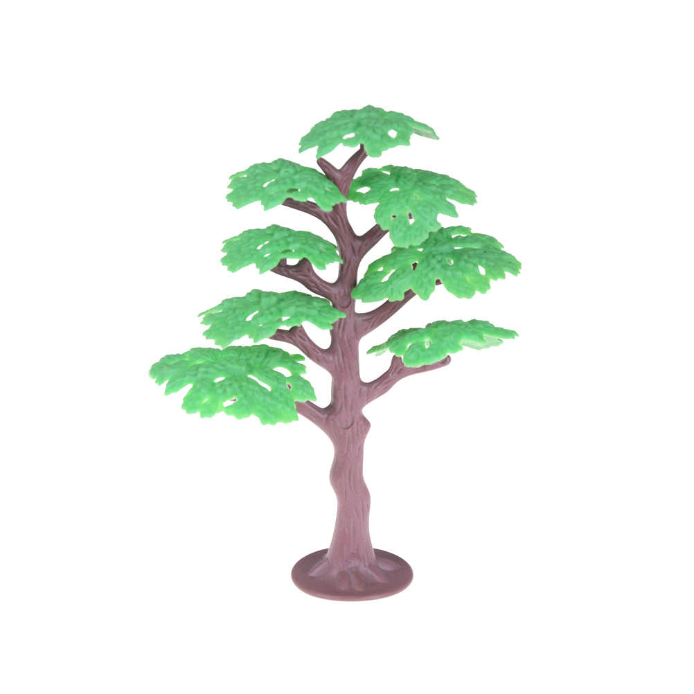 New Model Trees Train Scenery Landscape Railway Park Pine Plastic Architectural Model Supplies Building Kits Toys for Children