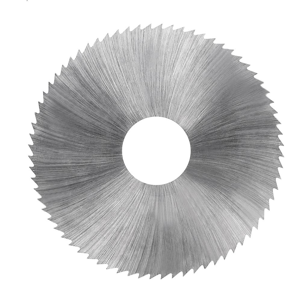 Uxcell New Hot 1pcs 63mm Circular HSS Saw Blade 72 Tooth 0.5/0.6/0.8/1/1.2/1.5/2/3mm Thick Cutting Wheel W 16mm Arbor
