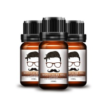 Moisturizing Smoothing Gentlemen Beard Care Conditioner 10ml Natural Men Beard Essential Oil For Styling Beeswax