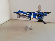 Star War Anakins Custom Jedi Starfighter Building Blocks Set Bricks Assembled DIY Toys Birthday