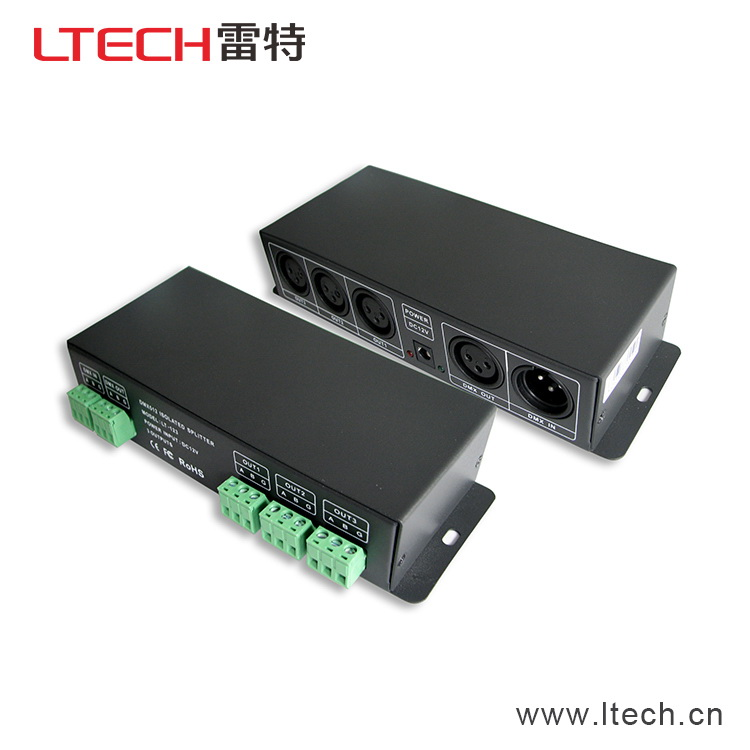LT-123;DMX512 Signal Amplifier;DC12V input