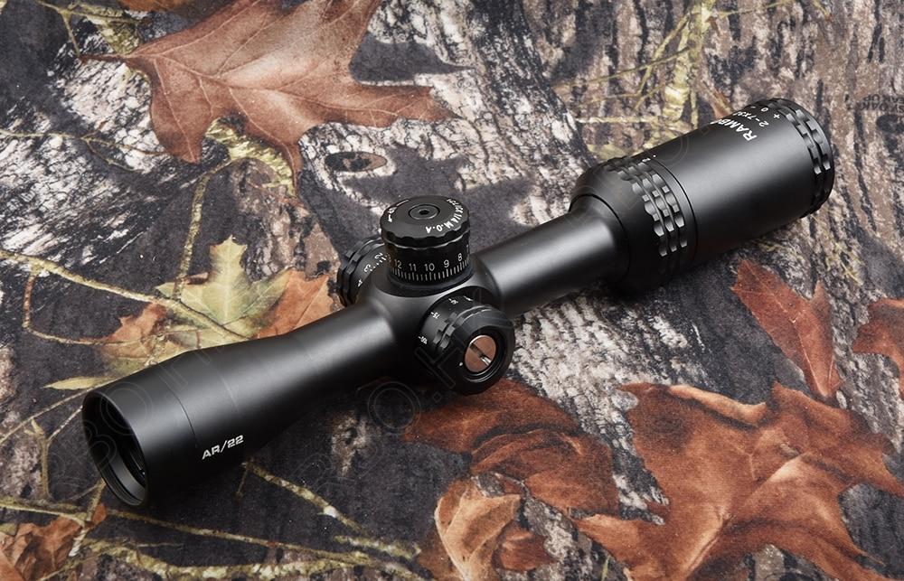 Ambito di caccia di tiro AR Ottica 2-7x32 Laterale primo Cannocchiale impermeabile M8317Ambito di caccia di tiro AR Ottica 2-7x32 Laterale primo Cannocchiale impermeabile M8317