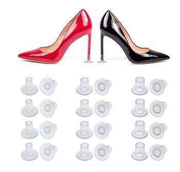 Darmowa dostawa! Przyjazne dla środowiska tanie kolorowe pcv wysokiej ochraniacz do obcasów tanie i dobre opinie Zestaw do pielęgnacji obuwia Heel protector----0001A Feet Mate Heel shoes protector