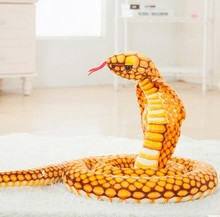 Free Shipping  Cobras Plush Toy Snake Doll New Arrived 2.5m Big size Christmas gift Wholesale and Retails