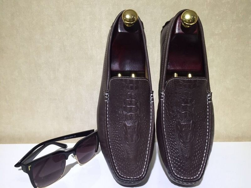 Cheap brown leather dress shoes