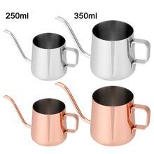 Teapot Kettle-Cup Tea-Tool Coffee-Pot Drip Stainless-Steel Kitchen Long-Spout 250ml/350ml