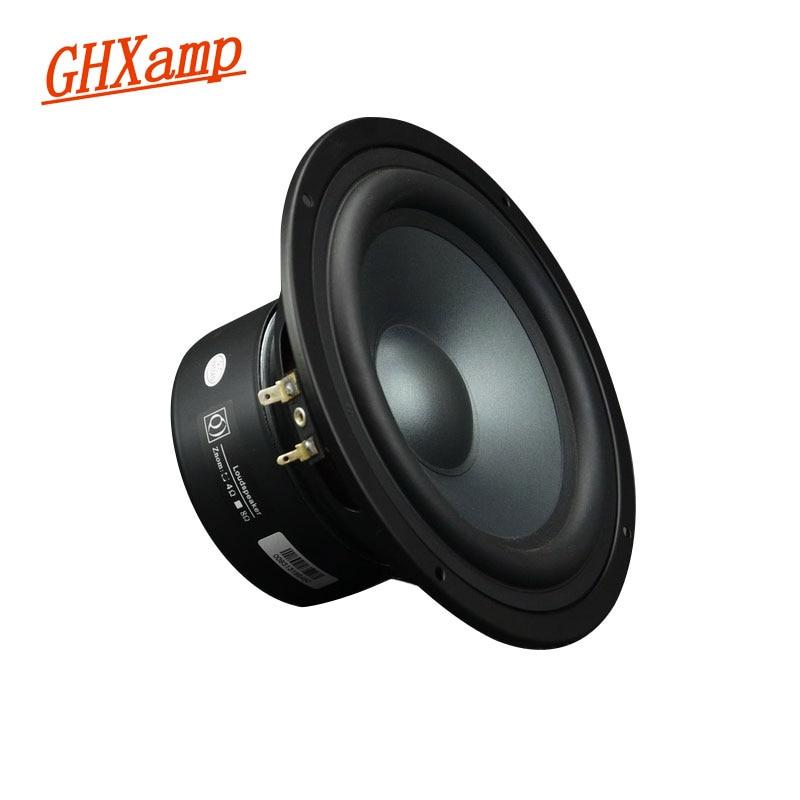 GHXAMP 6 5 inch Midrange Woofer Speaker 4ohm 25 50W Home Theater Long Stroke Mid Bass