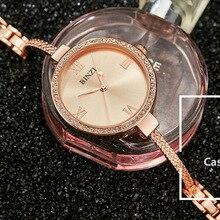 Women Bracelet Watch Ultra Slim Band Creative Wrist Watch re