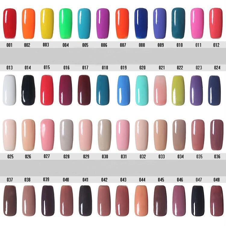 180 Varnish Colors Primer Nail Gel Polish Choose Any 12 Color Vogue ...