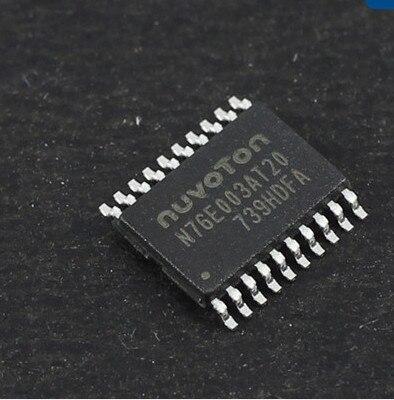 Freeshipping 76E003 TSSOP20 MCU 8-Bit 8051 CISC 18KB Flash 2.5V/3.3V/5V 20-Pin N76E003AT20 10pcs lot p89lpc922fdh lpc922f tssop20 tssop20 original electronics ic kit