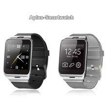 Excelvan GV18 NFC Smartwatch Auf Handgelenk Sport Fitness Tracker & Sync Notifier anti-verlorene phone kamerad Mit Kamera Entsperrt SIM Handys