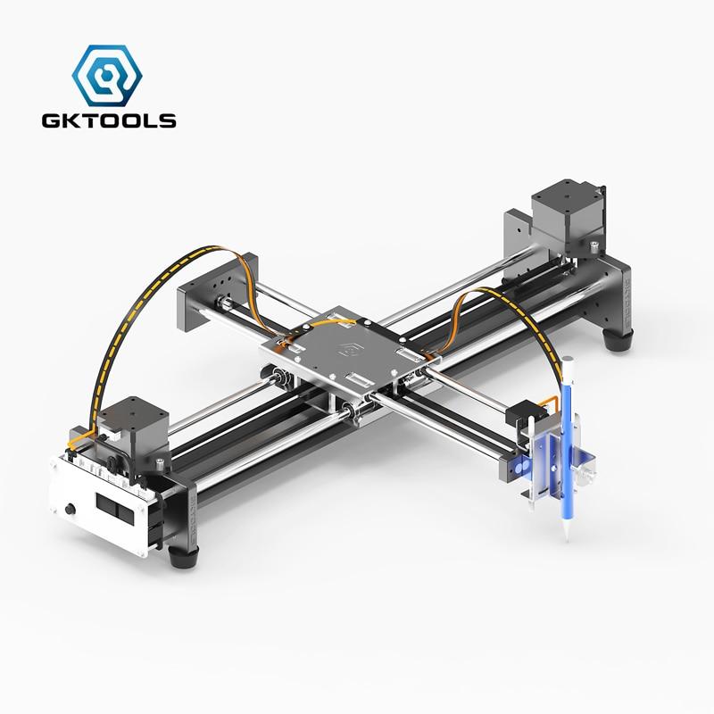 GK A3 Pro DIY All Metal Drawbot Pen Drawing Machine Lettering Robot Corexy  XY-plotter CNC Draw Robot Kit Writing Robot Toys