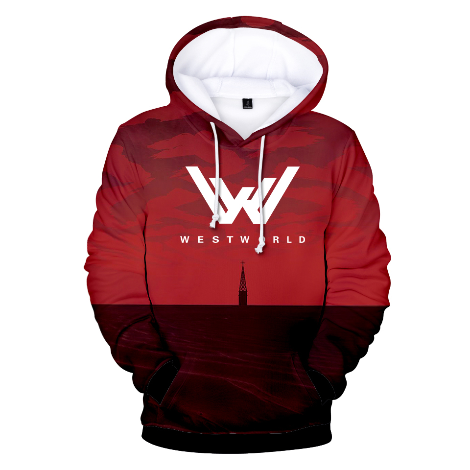 New WEST WORLD 3D Hoodie Sweatshirt Top Women/men Sweatshirt Cool And Fashion Style Hoodies XXS To 4XL