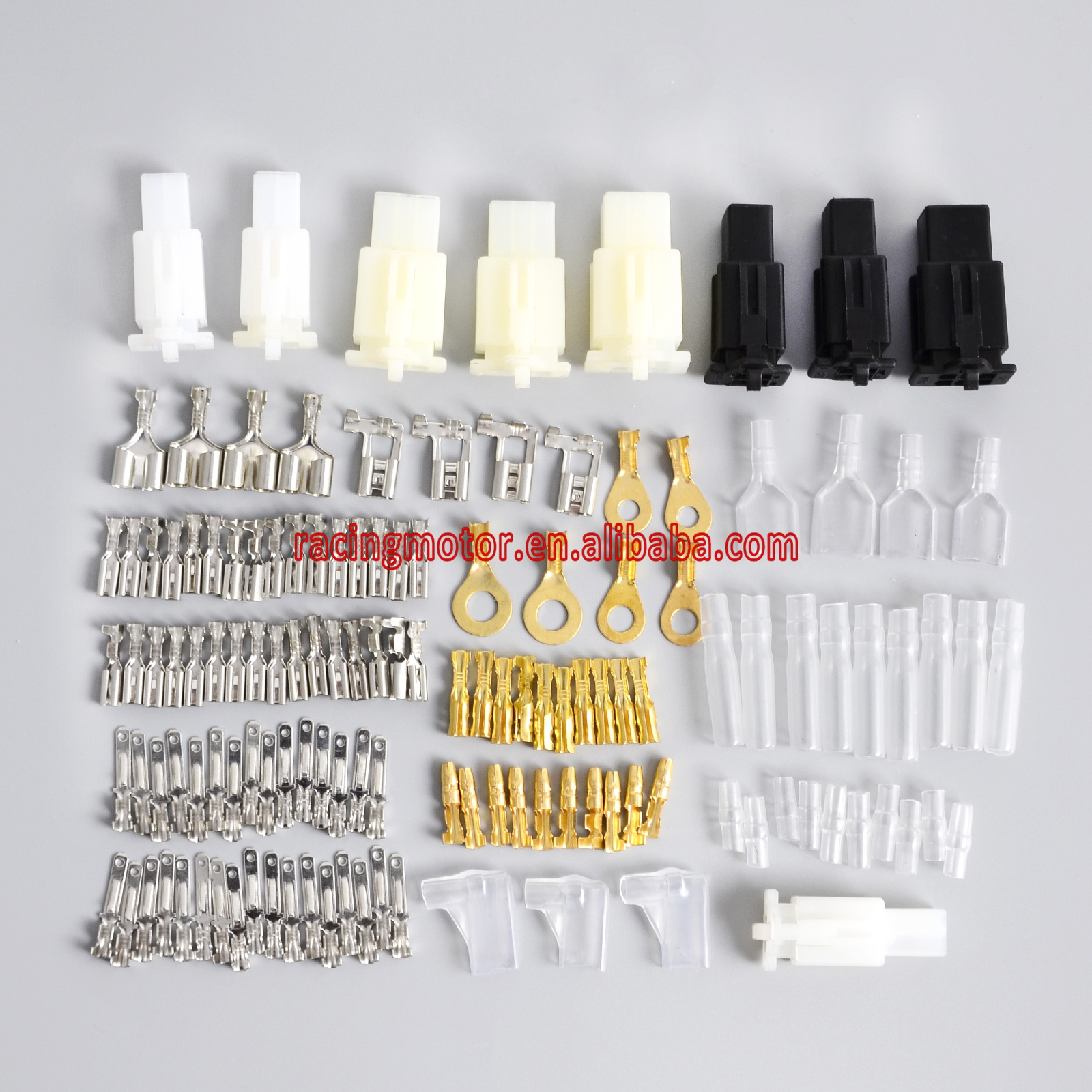 Motorcycle Connector Wiring Loom Automotive Harness Auto Terminal Repair Kit PVC Insulation Covers Tin Plate Brass  sc 1 st  AliExpress.com : automotive wiring harness repair - yogabreezes.com